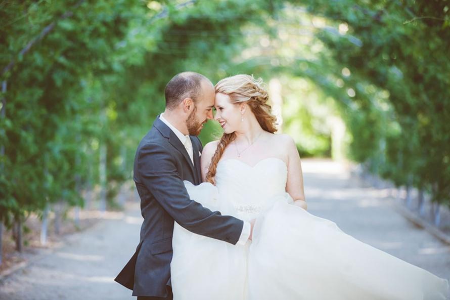 Adelaide Wedding Photographer Botanic Gardens Kosta Jessica Embrace Photography