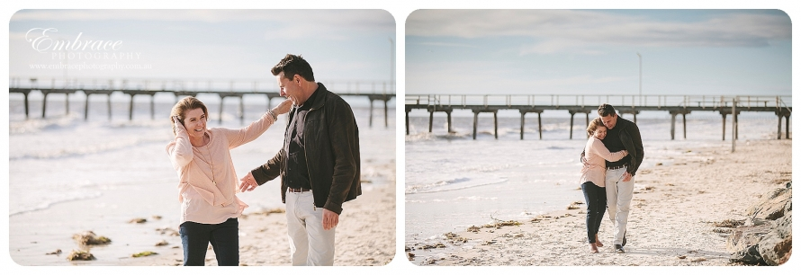 #Adelaide#Engagement#Photographer#Grange Beach#EmbracePhotography_0001